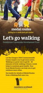 Cover of medal routes