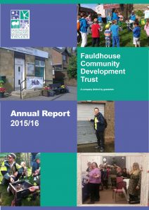 cover of annual report 15-16