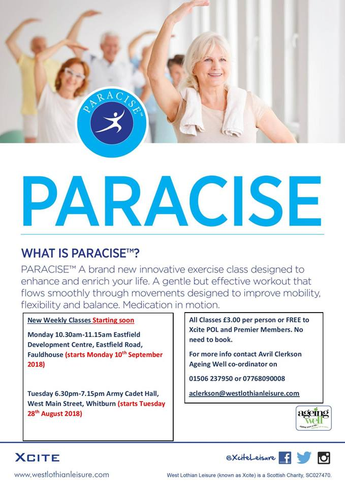 Paracise @ Eastfield Development Centre | Fauldhouse | Scotland | United Kingdom
