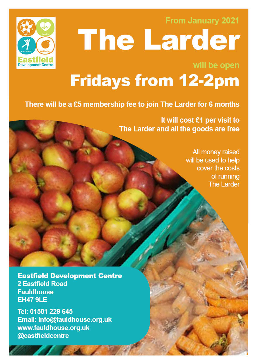 Eastfield Community Larder @ Eastfield Development Centre