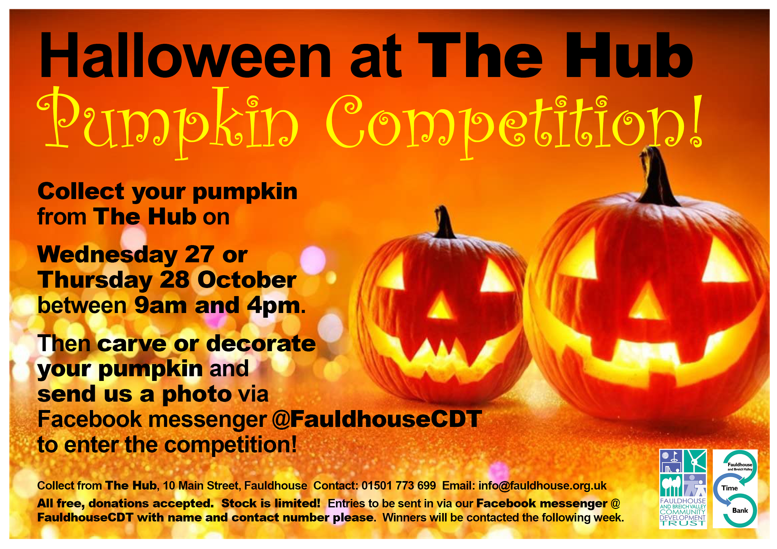 Pumpkin Competition @ The Hub